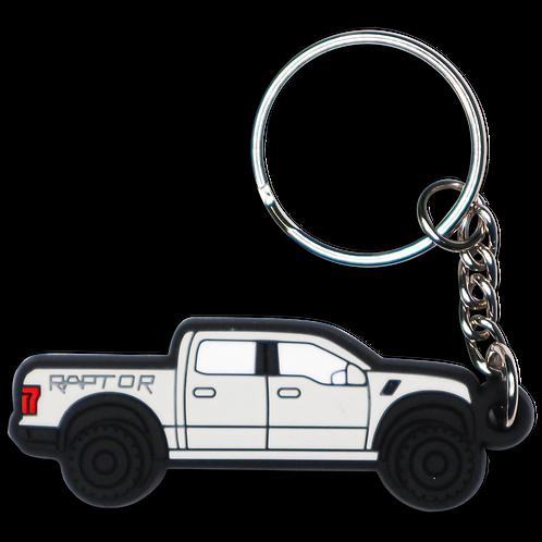 Raptor Truck Key Chain