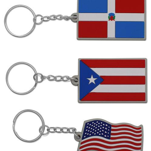 DR/PR/USA Flag