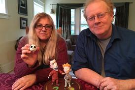 Animators Angie glocka and Owen Klatte