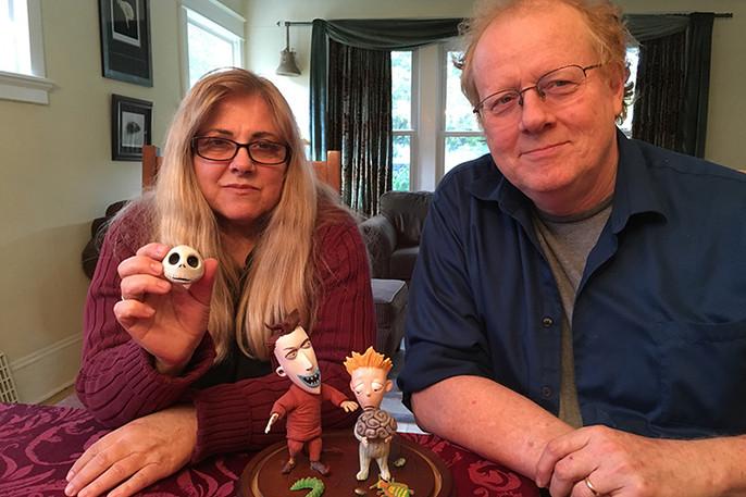 Angie with Animator/Husband Owen Klatte