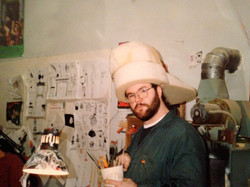 Model maker Jerome Ranft