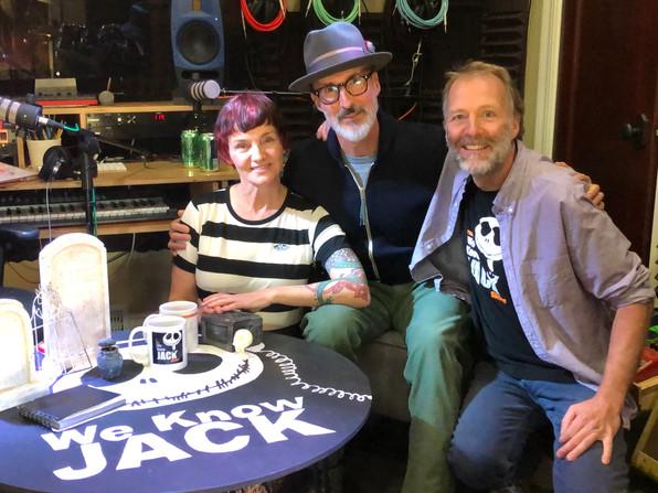 Kat, Mark Kohr, and Todd at Studio 65/45