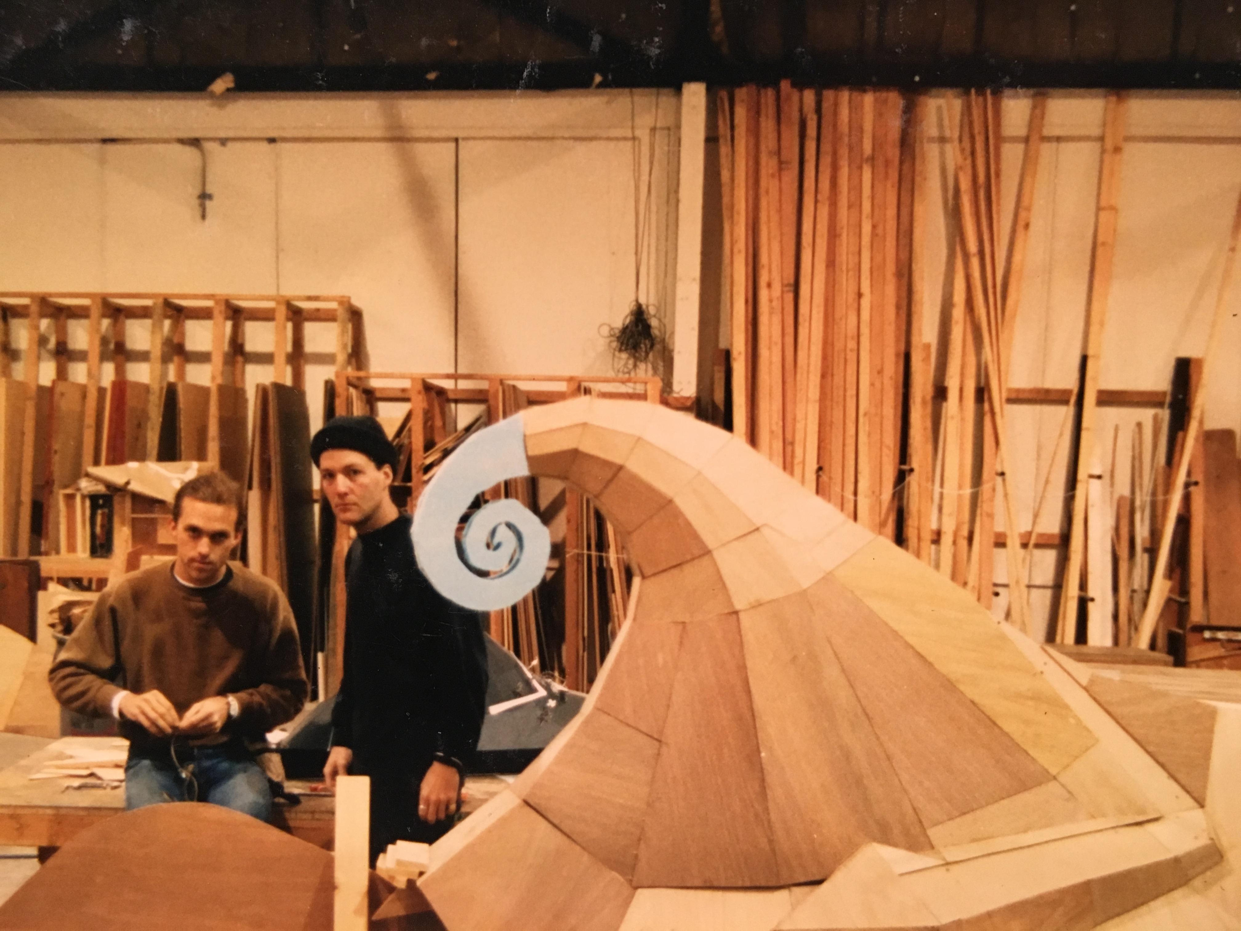 Set Builders Phil Brotherton & Todd Lookinland