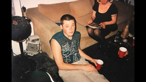 After work party at Skellington 1991.