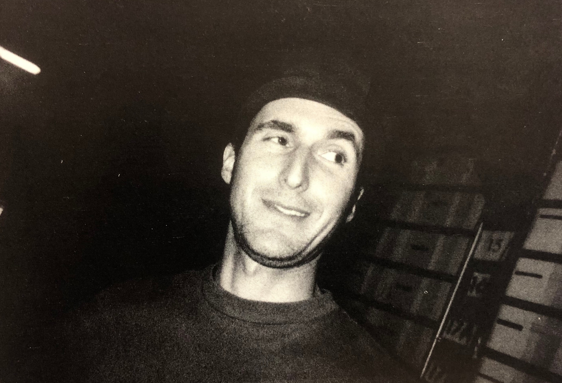 Mark Kohr at Skellington Studio 1992