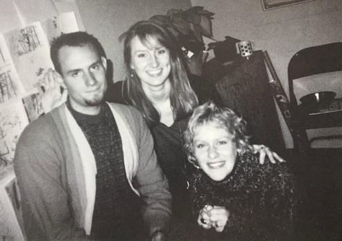 Shane, Jenny Spamer, Arianne Sutner 1992