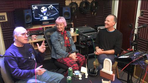 Pat, Kat, and Todd in studio.