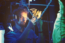 Owen animating in Oogie Boogie's Lair
