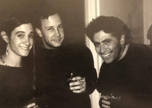 Allison, Mold Maker Rob Ronning, and Track Reader Dan Mason @ Skellington 1991.
