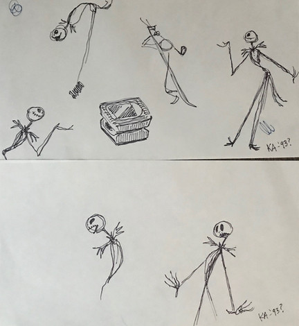 Jack sketches by Kelly