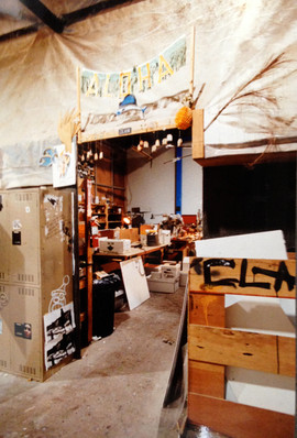 Entrance to the Model Shop.