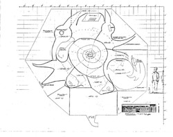 Halloween Town Square Plan View