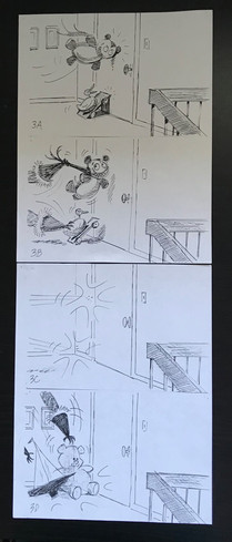 Story board sequence by Kelly