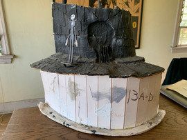 A model Bill made for Halloween Town.