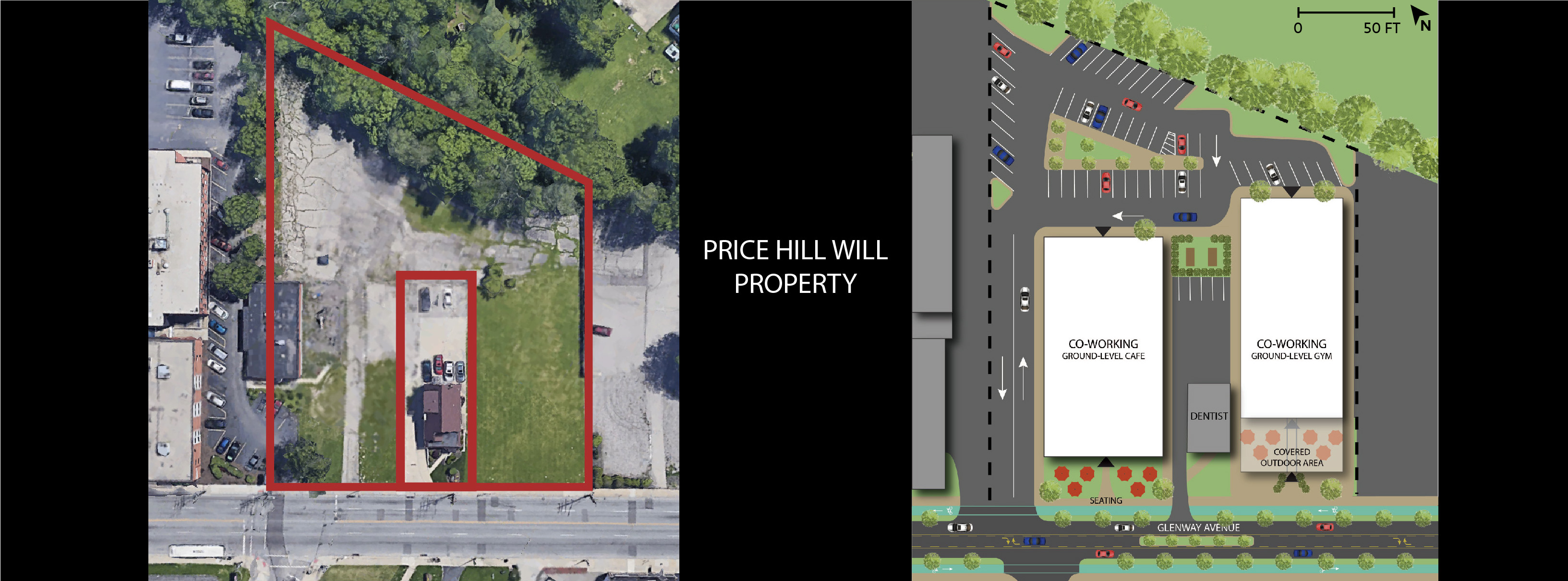 CO-WORKING PRICE HILL WILL PROPERTY SITE PLAN