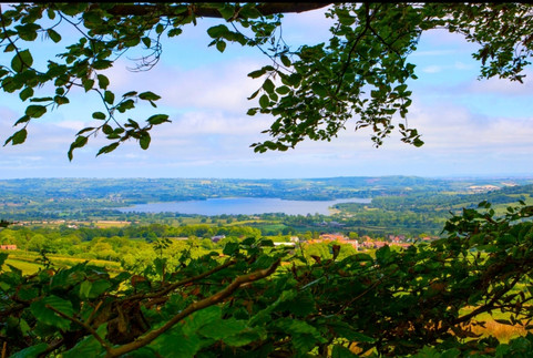 Chew Valley Lake from East Harptree