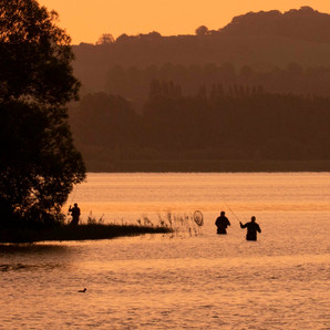Fishermen at Sunrise