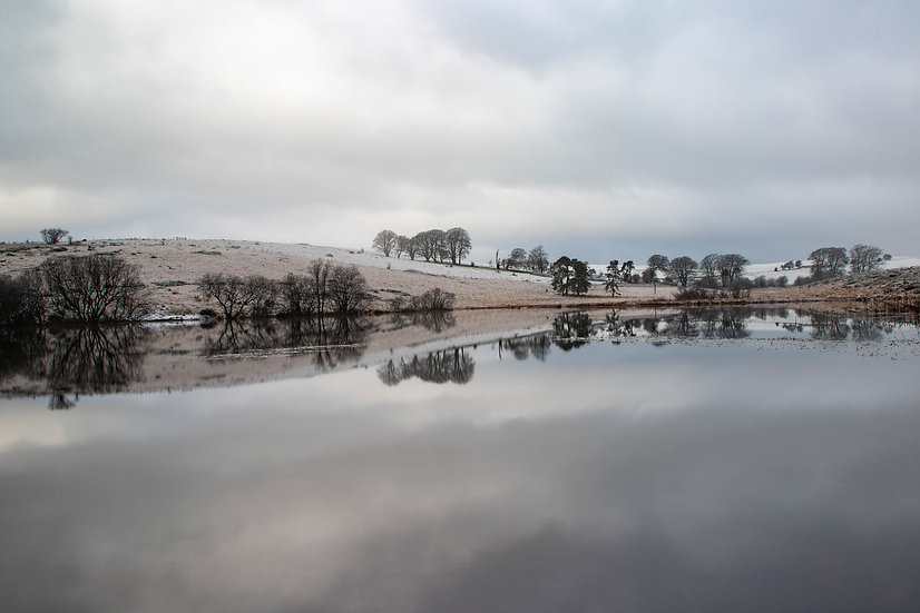 Priddy Pool Reflections