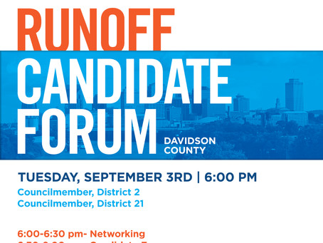 RUN-OFF Forum, Tues. Sept 3 at 6pm