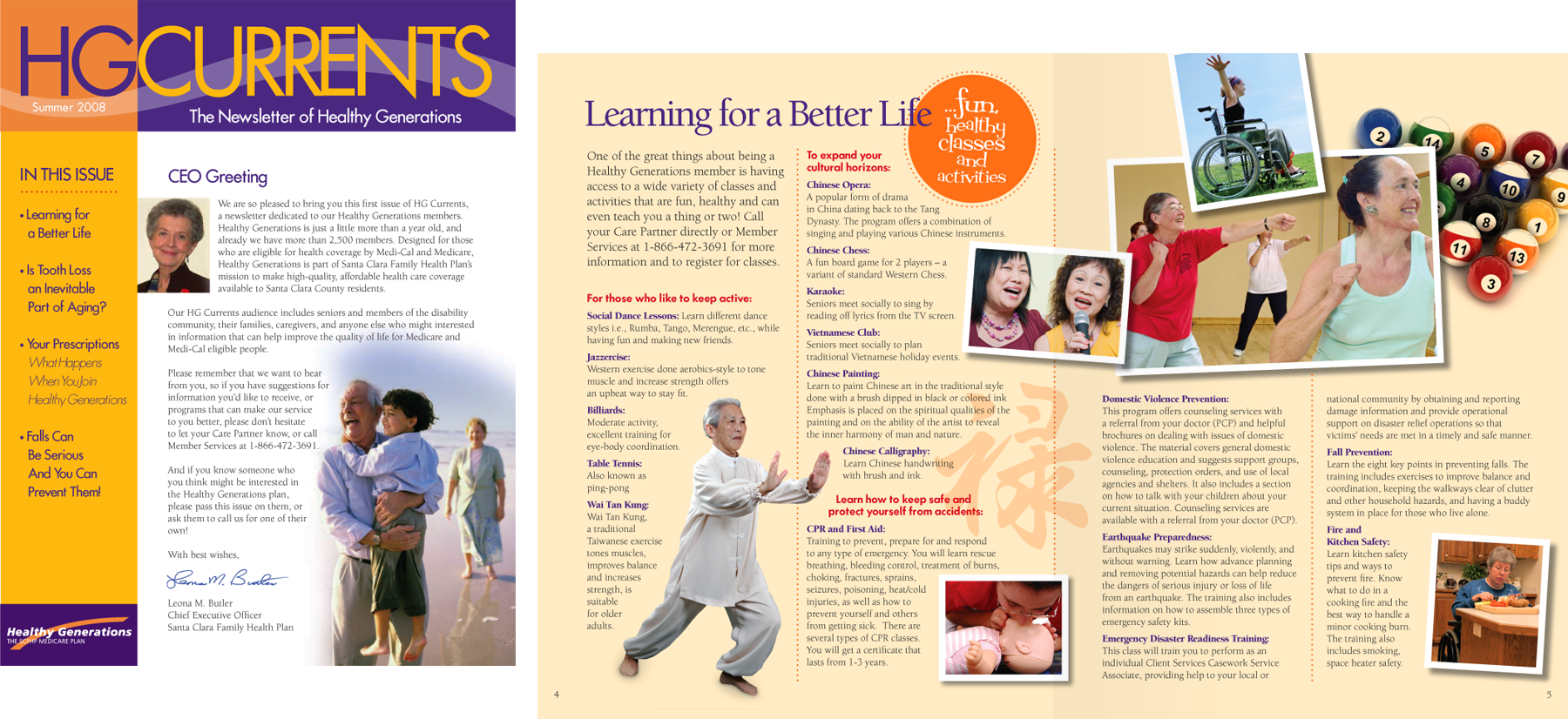 Healthy Generations Newsletter