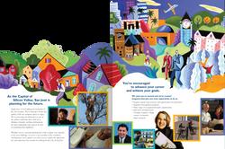 City of San Jose Die-Cut HR Brochure