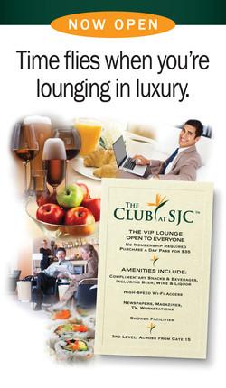 The Club at SJC Sign