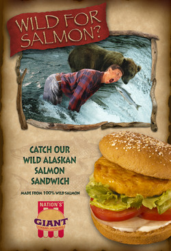 Final Nation's Salmon Poster