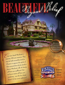 Winchester Mystery House Ad
