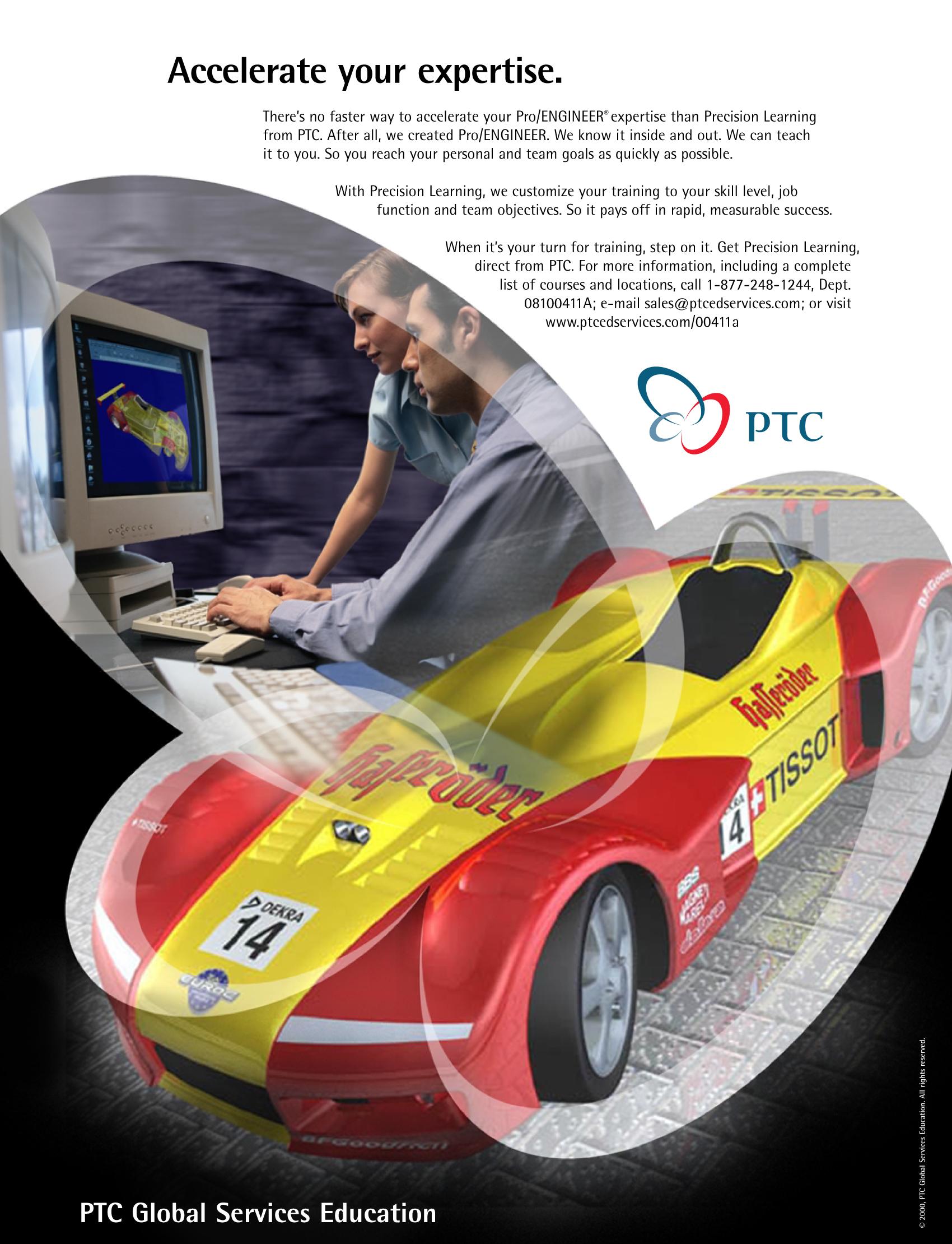 PTC Trade Magazine Ad