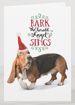 Funny Christmas Card For Dog Lovers