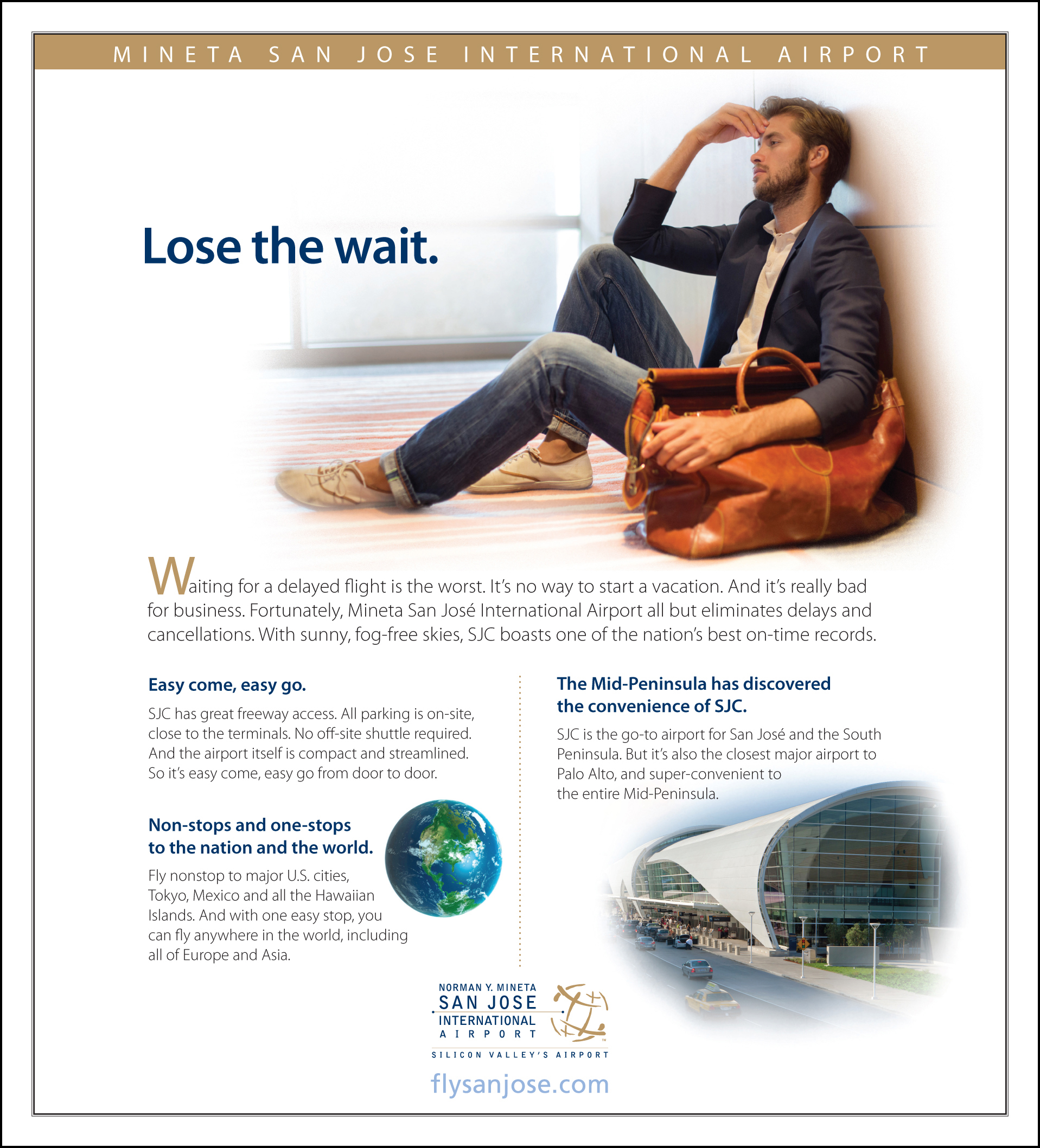 SJC Airport Newspaper Ad