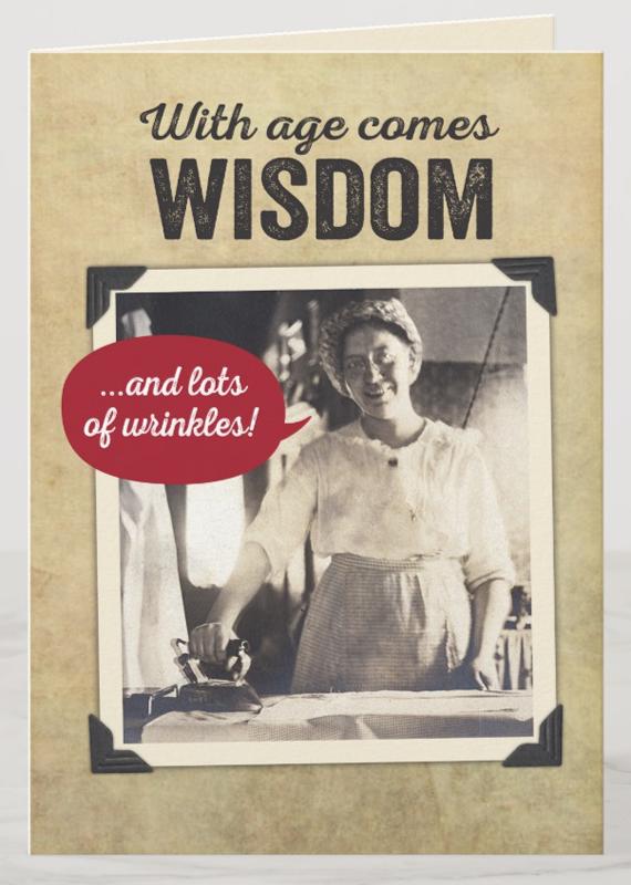 Vintage Humor Greeting Card