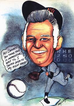 Baseball Pitcher, Don Larsen