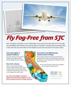 SJC Airport Newspaper Ad