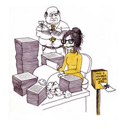 HR Booklet Cartoons
