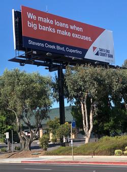 Santa Cruz County Bank Billboard