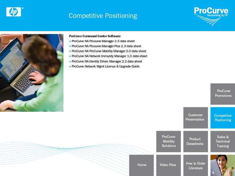 HP internal web site