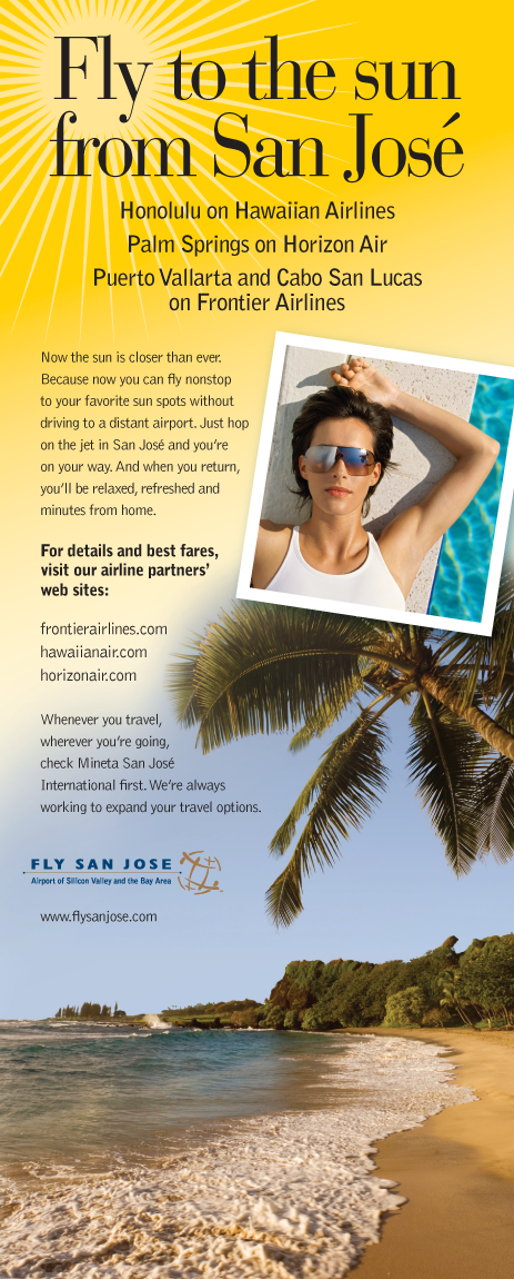 Fly San Jose Magazine Ad