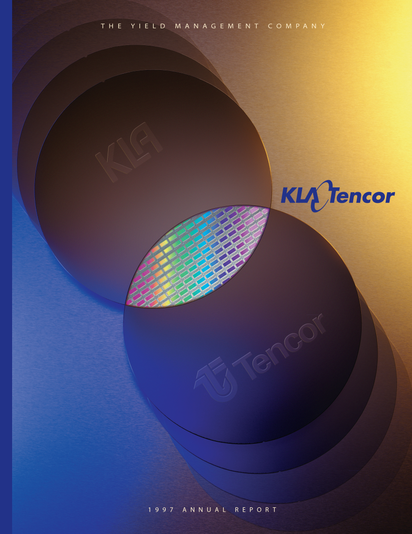 KLA/Tencor Annual Report