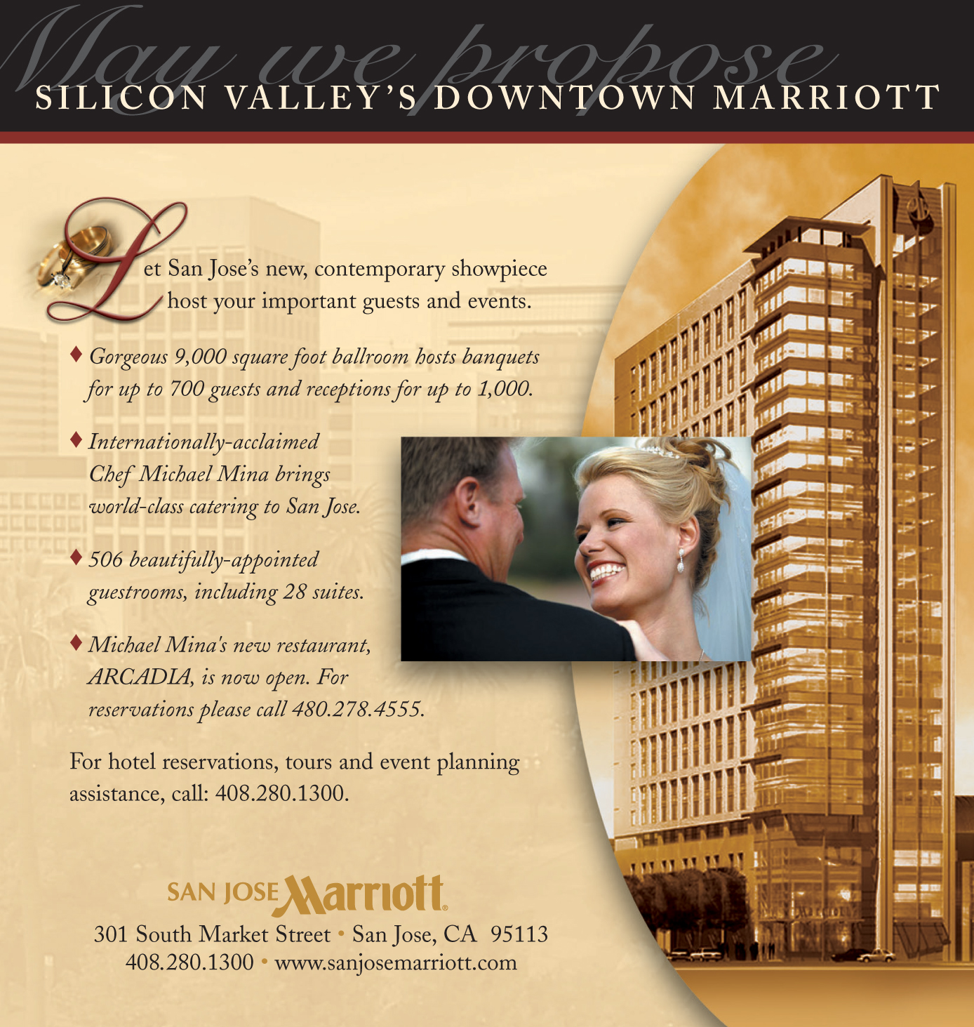 Marriott Wedding Ad
