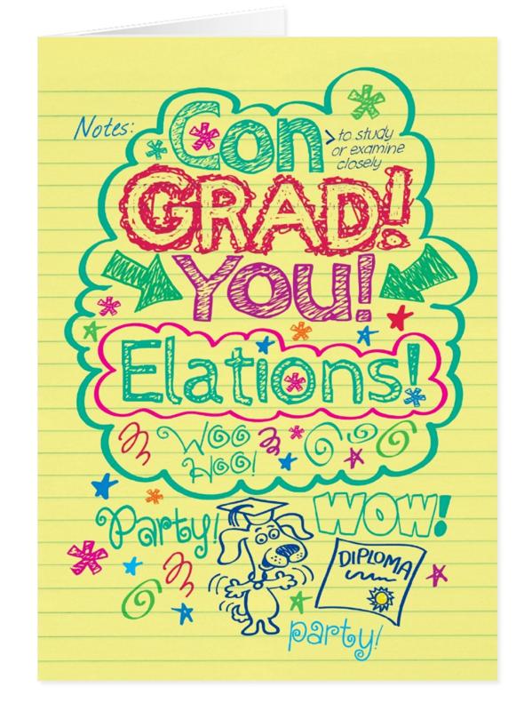 Noteworthy Graduation Card