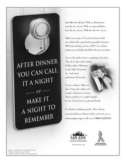 Hotel Newspaper Ad