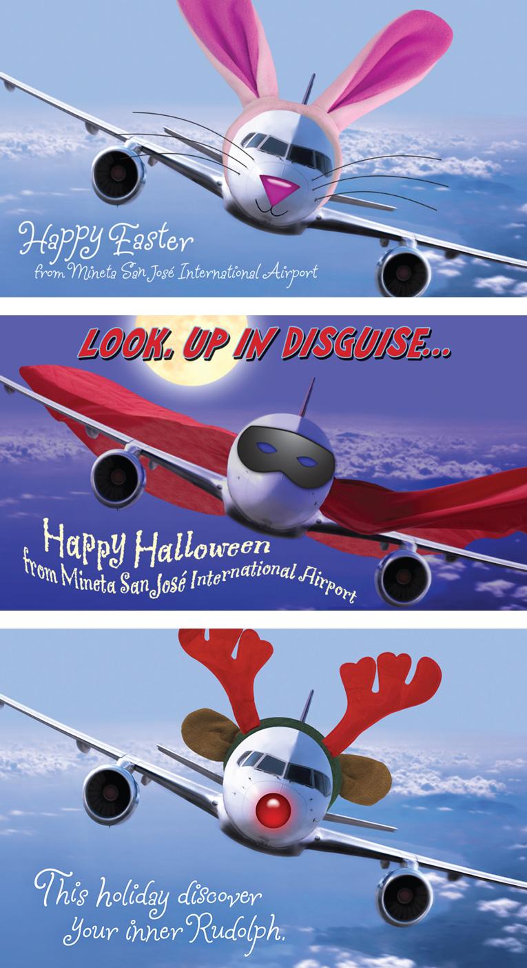San Jose Airport Holiday Greetings