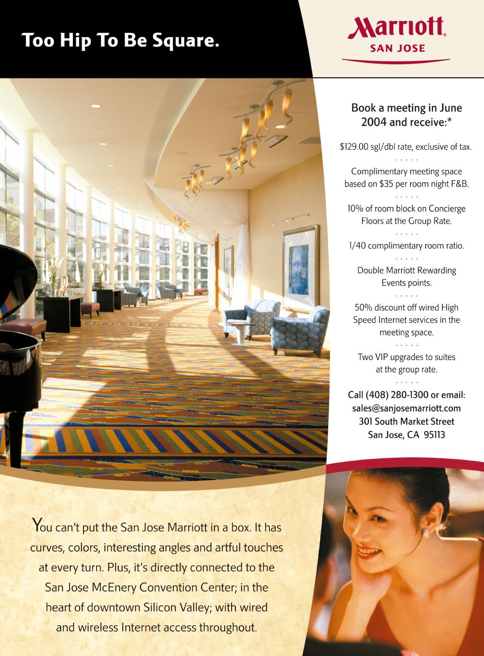 Marriott Meetings Ad