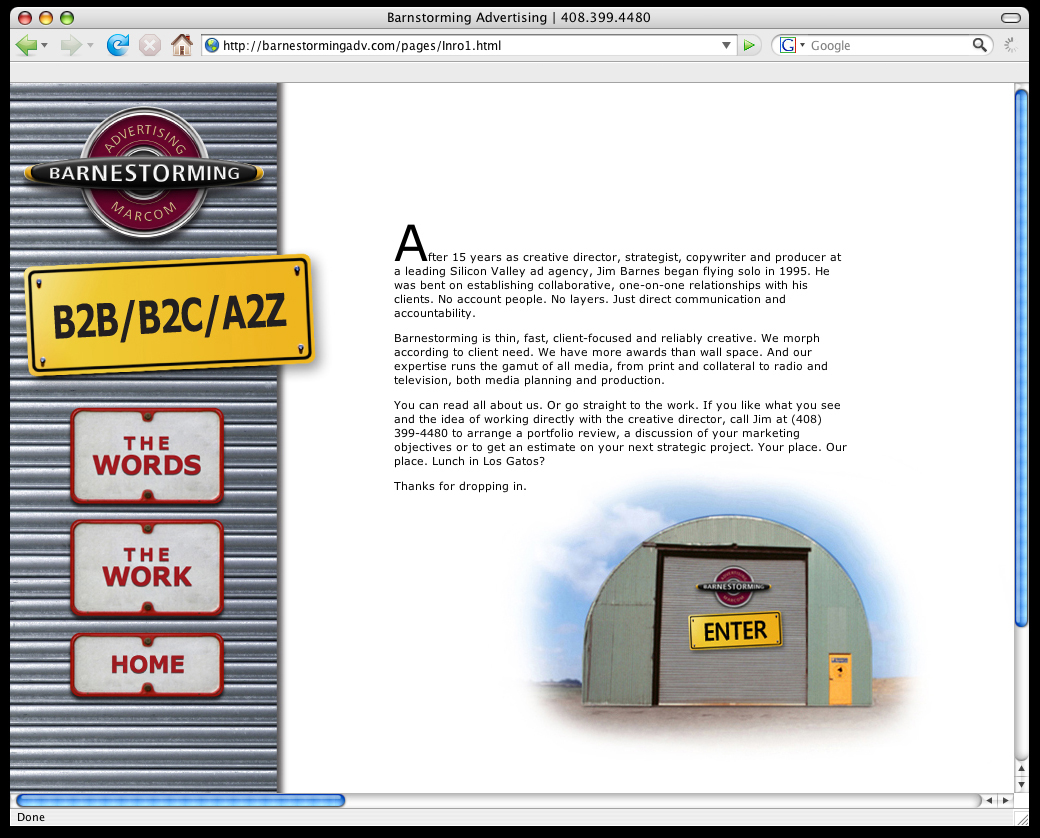 Barnestorming Advertising