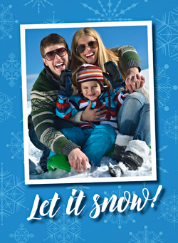 Custom Holiday Photo Greeting Card