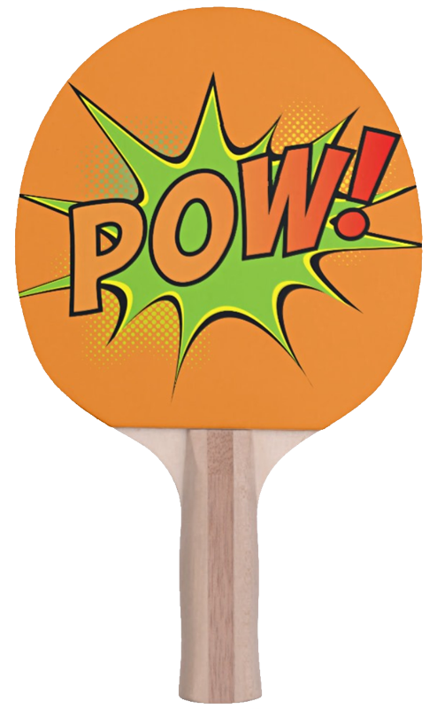 Pow Ping Pong Paddle