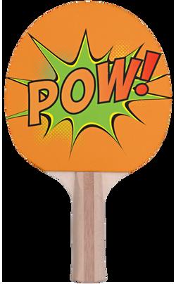 Pow Ping Pong Paddle