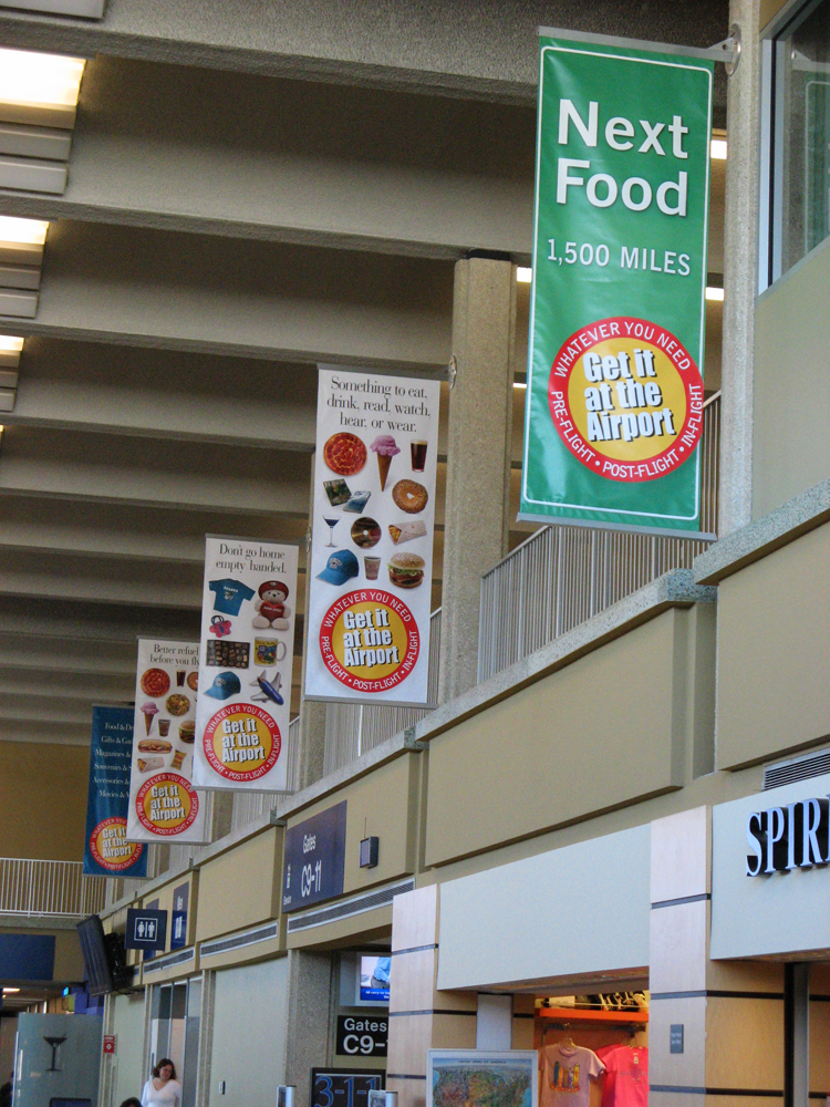Concessions Banners