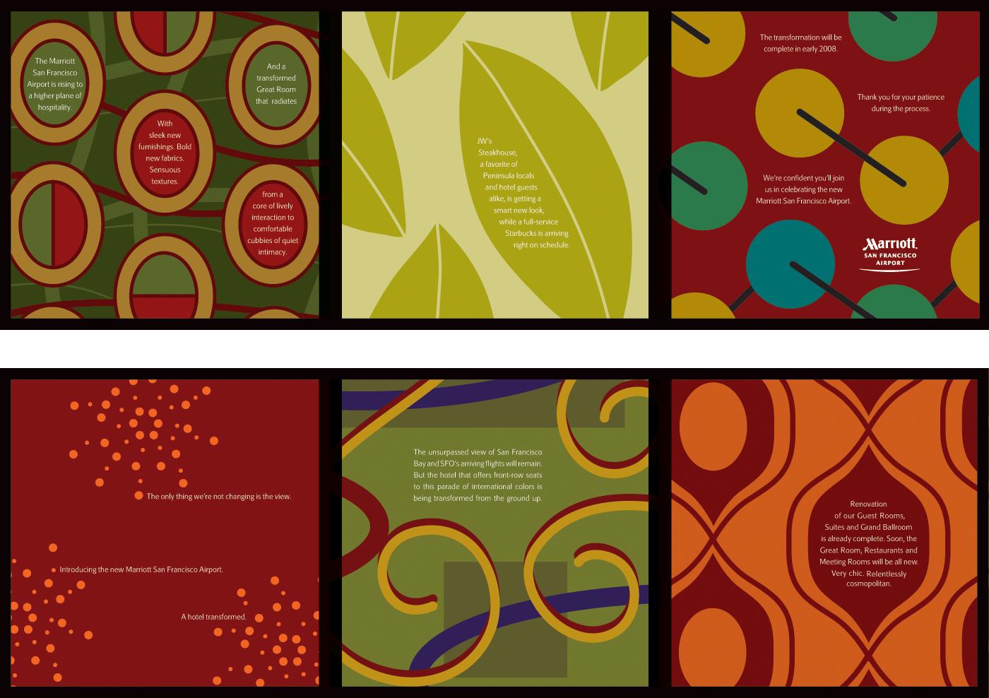 Colorful Accordion-Fold Brochure